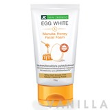 JC New Zealand Egg White & Manuka Honey Facial Foam