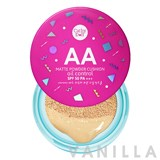 Cathy Doll AA Matte Powder Cushion Oil Control SPF 50 PA++