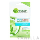 Garnier Skin Naturals Pure Active Matcha Deep Clean Clay Mask