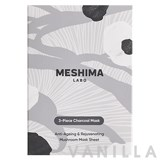 Meshima Labo Face Mask 3-pieces Charcoal Mask