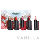 Shiseido Modern Matte Powder Lipstick Holiday Colors Mini Lip Bouquet Limited-Edition