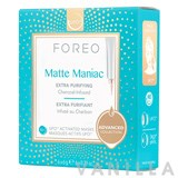 Foreo Matte Maniac Extra Purifying Charcoal-Infused UFO Activated Mask