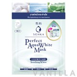 Senka Perfect Aqua White Mask - Soothing White