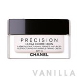 Chanel Ultra Correction Anti-Wrinkle Restructuring Cream SPF10