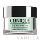 Clinique Superdefense Triple Action Moisturizer - Normal to Dry Skin