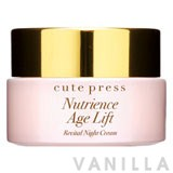 Cute Press Nutrience Age Lift Revital Night Cream