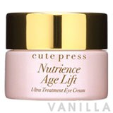 Cute Press Nutrience Age Lift Ultra Treatment Eye Cream