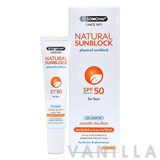 Dr.Somchai Natural Sunblock SPF50 For Face