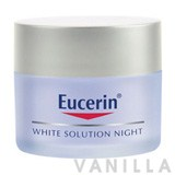Eucerin White Solution Whitening Night Treatment