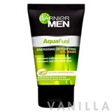 Garnier Men Aqua Fuel Energising Detoxifying Gel Wash