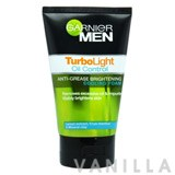 Garnier Men Turbo Light Oil Control Anti-Grease Grightening Cooling Foam