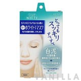 Clear Turn White Mask White Mud