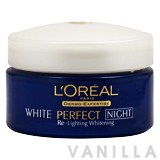 L'oreal White Perfect Re-lighting Whitening Repairing Night Cream