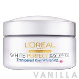 L'oreal White Perfect Transparent Rosy Whitening Cream SPF15