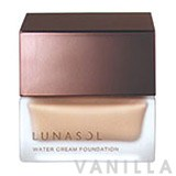 Lunasol Water Cream Foundation SPF18 PA++