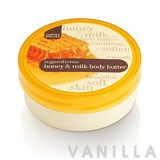 Marks & Spencer Ingredients Honey & Milk Body Butter