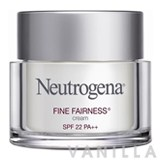 Neutrogena Fine Fairness Cream SPF22 PA++