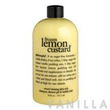 Philosophy Frozen Lemon Custard Award Winning Ultra Rich Shampoo, Shower Gel & Bubble Bath