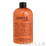 Philosophy Carrot Cake Ultra-Rich 3-In-1 Shampoo, Shower Gel And Bubble Bath