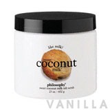 Philosophy Sweet Coconut Milk Salt Tub And Shower Scrub