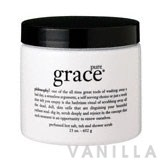 Philosophy Pure Grace Perfumed Hot Salt, Exfoliating Tub And Shower Scrub