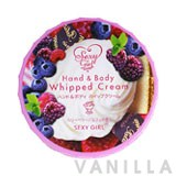 Sexy Girl Hand & Body Whipped Cream Blueberry