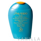 Shiseido Suncare Gentle Sun Protection Lotion SPF30 PA +++
