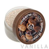 The Body Shop Cocoa Butter Cream Textured Body Scrub