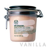 The Body Shop Spa Wisdom Africa Spa Salt Scrub