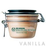 The Body Shop Spa Wisdom Africa Spa Honey Butter for Hands and Feet