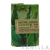 The Face Shop Nature Garden Cleansing Bar - Calming Aloe