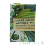 The Face Shop Nature Garden cleansing Bar - Sebum Controlling Seaweed