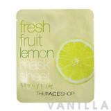 The Face Shop Fresh Fruit Lemon Mask Sheet