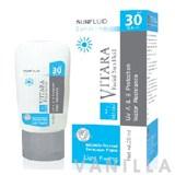 Vitara Facial sun Fluid Sensitive SPF30 PA++