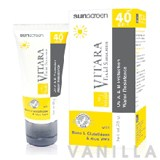 Vitara  Facial  Sunscreen SPF40 PA++ White Cream