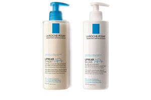 NEW! LA ROCHE-POSAY LIPIKAR SYNDET AP+ and LIPIKAR BAUME AP+ 400 ML